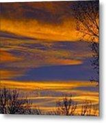 November Skies Metal Print