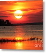 November Sunset Metal Print