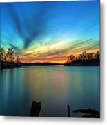 November Sunset Metal Print