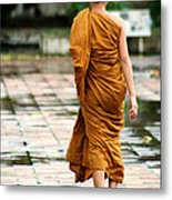Novice Monk Of Chedi Luang Metal Print