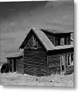 Now An Old Stand For Tractor Tires Metal Print