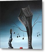 Now And Forever In Love With You By Shawna Erback Metal Print by Shawna Erback
