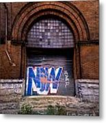 Now Graffiti Metal Print