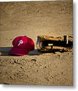 Now Pitching For The Phillies Metal Print