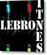 Now Witness Lebron James Metal Print