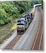 Ns 9629 Lead Intermodal Metal Print