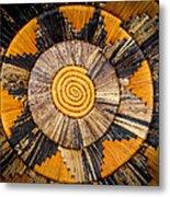 Nubian Basket Metal Print