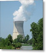 Nuclear Energy And Environment Metal Print