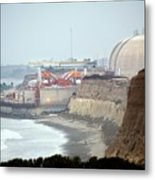 Nuclear Generating Station Metal Print