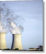 Nuclear Hdr3 Metal Print