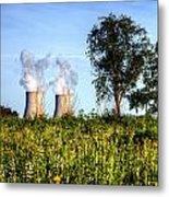 Nuclear Hdr4 Metal Print