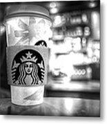 Nuclear Starbucks Metal Print