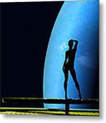Nude Amongst The Stars... Metal Print