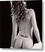 Nude Girl Woman Booty 1200.01 Metal Print