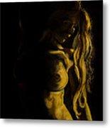 Nude - Chiaroscuro Metal Print