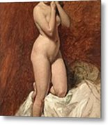 Nude From The Front Metal Print