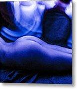 Nude Light Painting 2 Metal Print