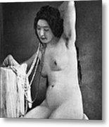 Nude Posing, C1850 Metal Print