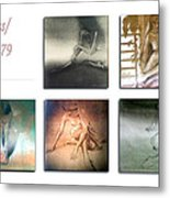 Nude Sketches 1978 To 79 Metal Print