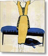 Nuevo Mundo  1920 1920s Spain Cc Womens Metal Print by The Advertising Archives