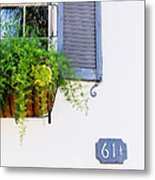Number 61 And A Quarter - Charleston S C - Travel Photographer David Perry Lawrence Metal Print