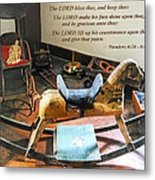 Numbers 6 24-26 The Lord Bless Thee And Keep Thee Metal Print