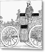 Nuremberg Carriage, 1649 Metal Print