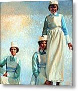 Nurse's Holiday Metal Print