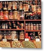 Nut Shop Metal Print