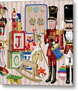 Nutcracker And Friends Metal Print