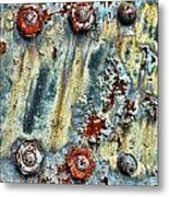 Nuts And Rivets  Metal Print