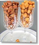 Nutty For Nuts Metal Print