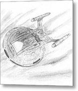 Nx-01 Enterprise Metal Print