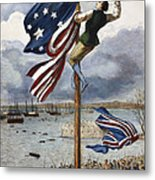 Ny: British Evacuation Metal Print