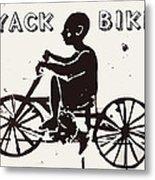 Nyack Bike Metal Print
