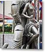 Nyc - Manhattan - Rockefeller Center - First Human Maiden Made F Metal Print