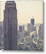 Nyc - Empire State Building Metal Print