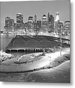 Nyc New York/ Manhatten  Metal Print
