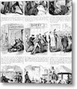 Nyc Police, 1859 Metal Print