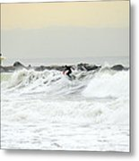Nyc Surfing Area Metal Print