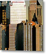 Nyc - Tower Jungle Metal Print