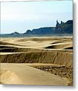 Nye Dunes Metal Print by Mamie Gunning