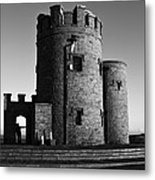 Briens Tower At The Cliffs Of Moher Metal Print