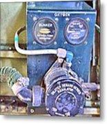 O2 Regulator Metal Print