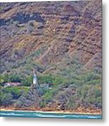 Oahu Lighthouse Metal Print