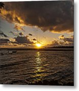 Oahu Sunrise Metal Print