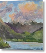 Oahu Sunrise Metal Print