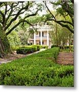 New Orleans Oak Alley Plantation Metal Print