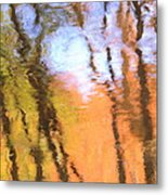 Oak Creek Reflections Metal Print