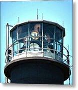 Oak Island Lighthouse Beacon Lights Metal Print